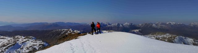 Blog Choire and Jane on Sgurr Choinnich